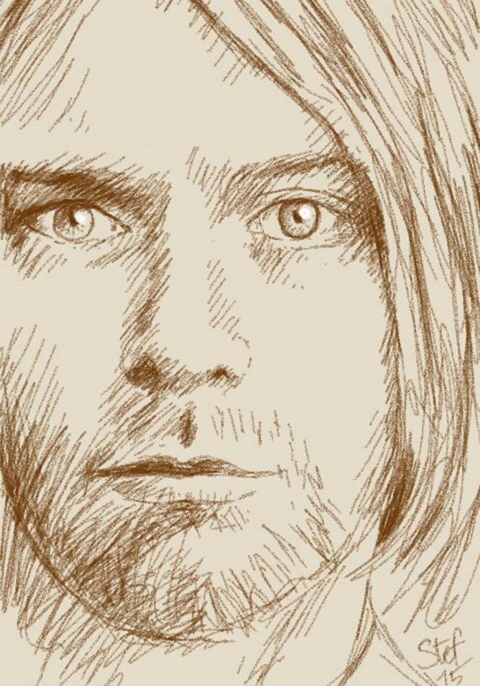 Kurt Cobain par stefart